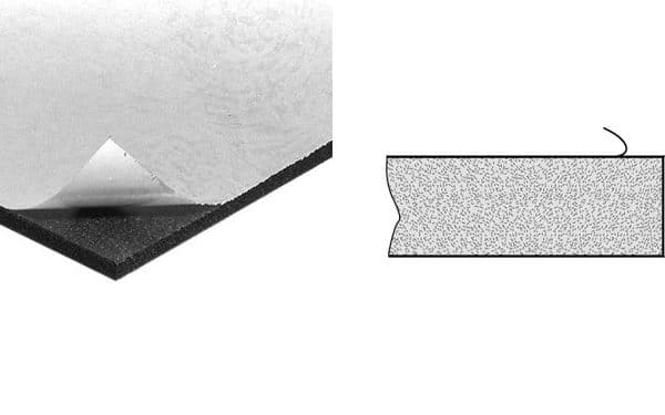 Mousse adhésive 5mm