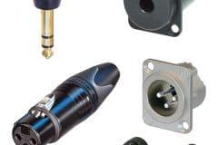 Connecteurs & embases modulation audio